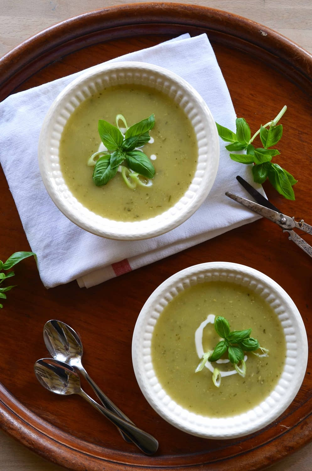 Simple Zucchini Soup