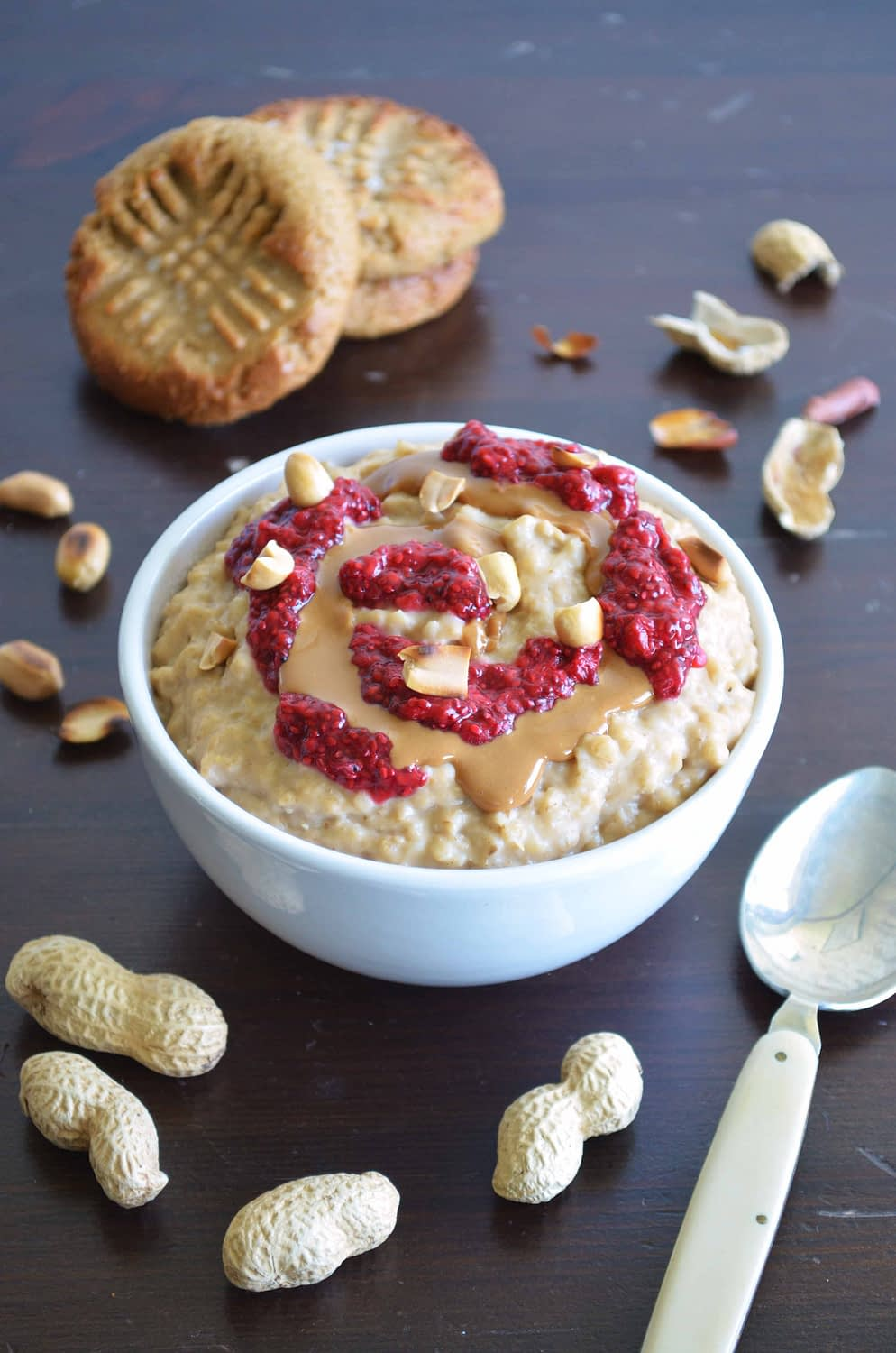 PB & Jelly Oatmeal