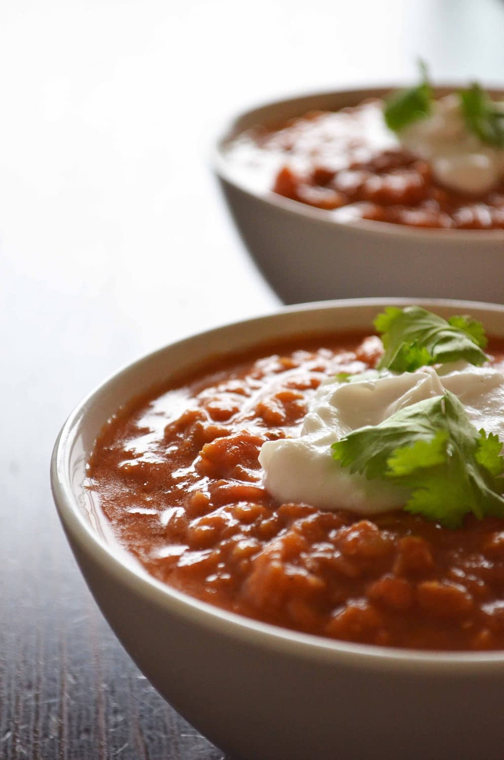 Creamy Red Lentil and Coconut Soup