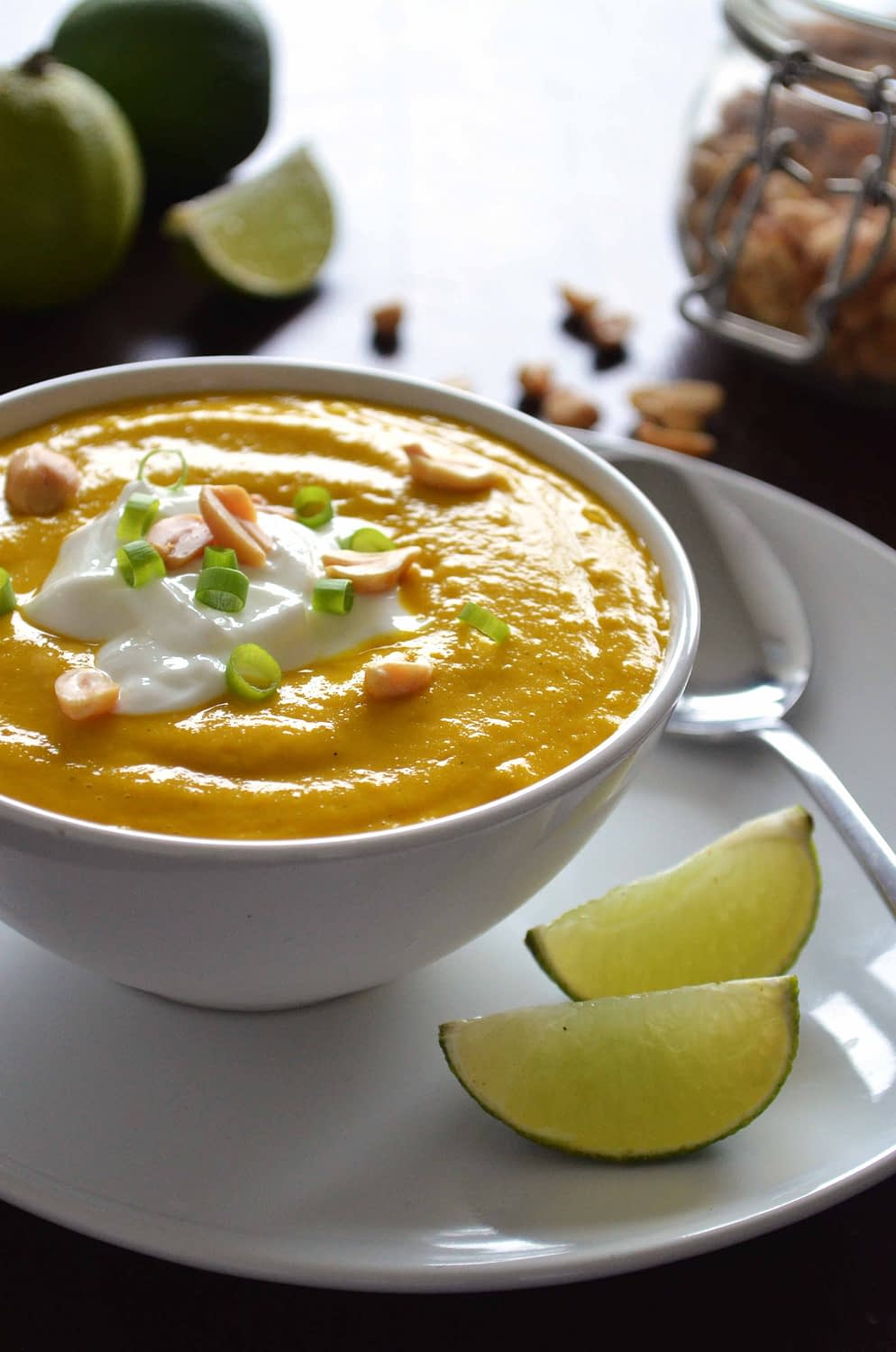 Spicy Pumpkin and Coconut Soup